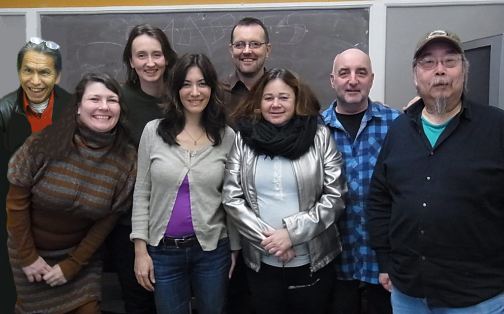2015 Committee: Stephen Lytton, Jennifer Merasty, Kelty McKerracher, Carolyn Wong, Jason Bouchard (Program Coordinator),   Esther Rausenberg, Bruce Walther, Sid Chow Tan