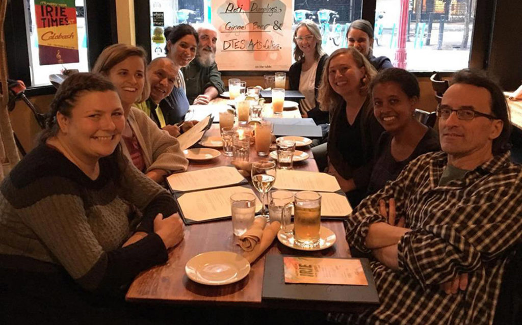 2018 Committee: Jennifer Merasty, Natalie Moravek (Grant Coordinator), Stephen Lytton, Carolyn Wong, Bruce Walther, Mirae Rosner, Olivia Davies, Beverly Walker (Program Coordinator), Meseret Taye (Manager, Grants and Community Initiatives), Mark Boreen
