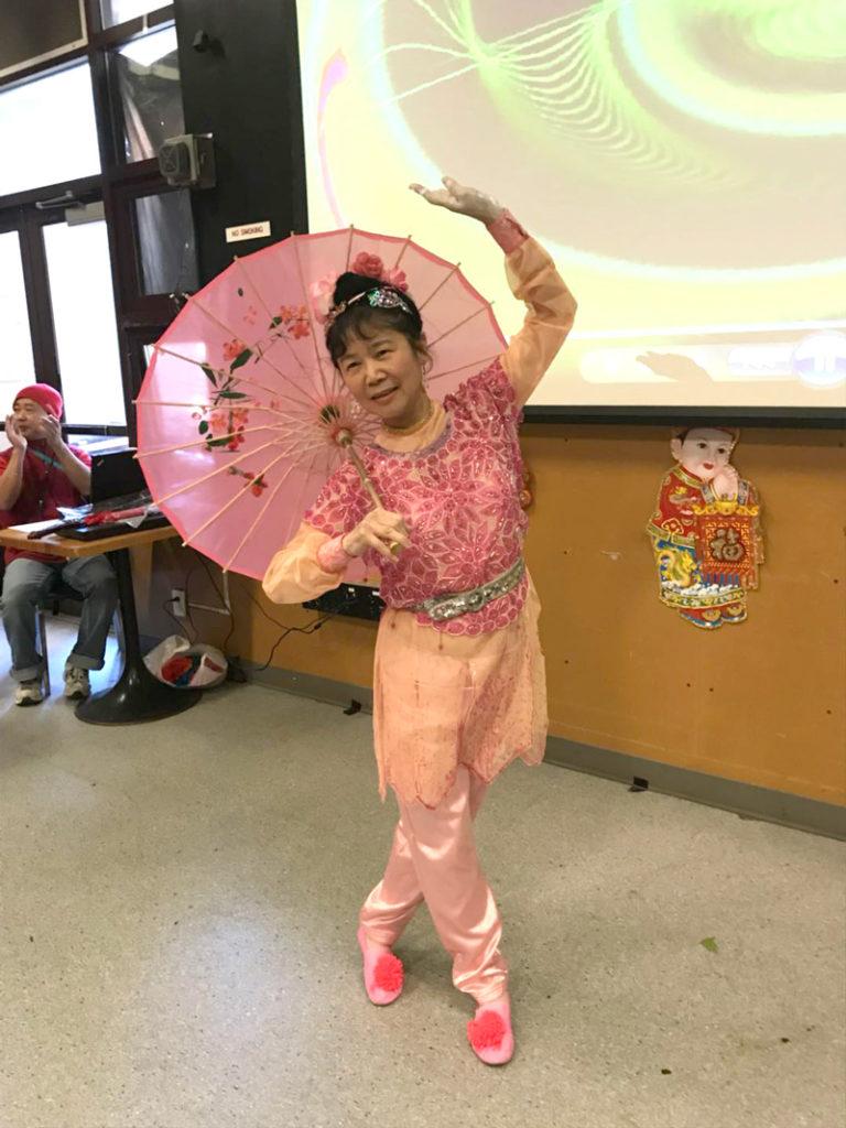 Eva Cho dancing