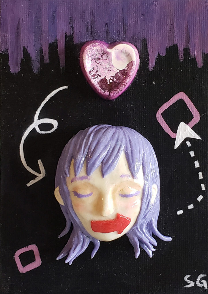 Voices and Choices (Polymer Clay & Resin)