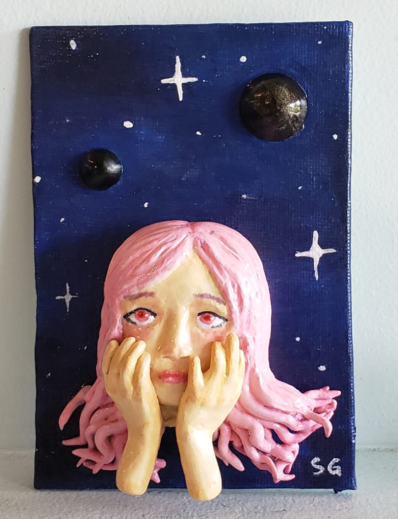 Dream (Air Dry Clay & Resin)